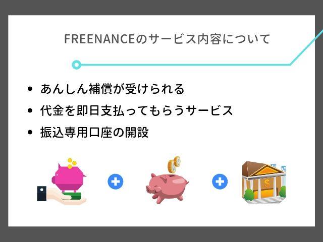 FREENANCEのサービス内容について